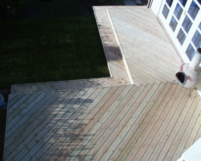 Timber Decking in Berden. Image 03