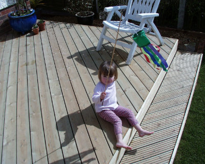 Timber Decking in Berden. Image 04