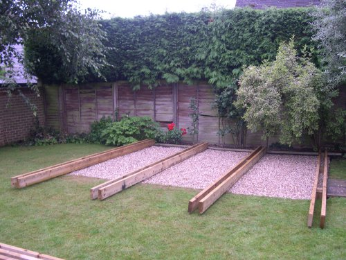 Timber Decking in Berden. Image 02