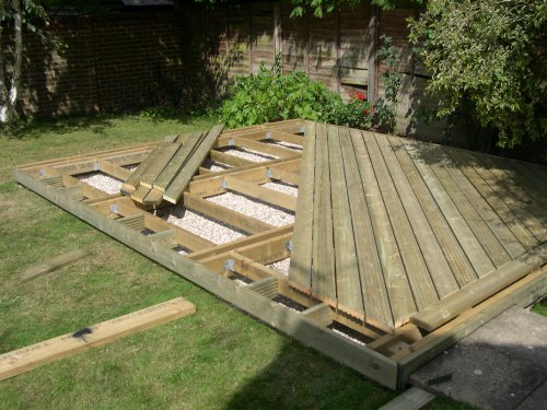 Timber Decking in Berden. Image 05