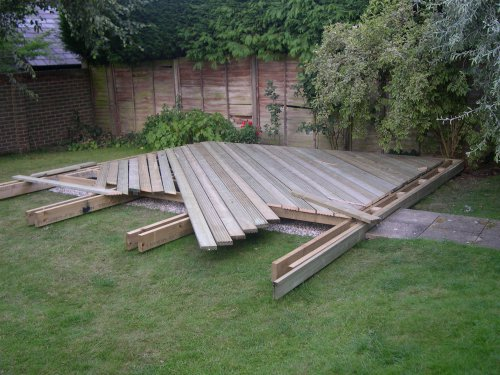Timber Decking in Berden. Image 06