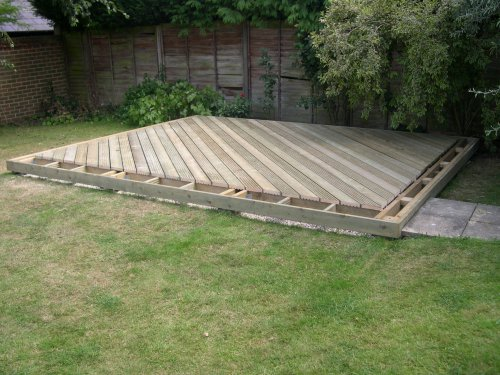 Timber Decking in Berden. Image 07