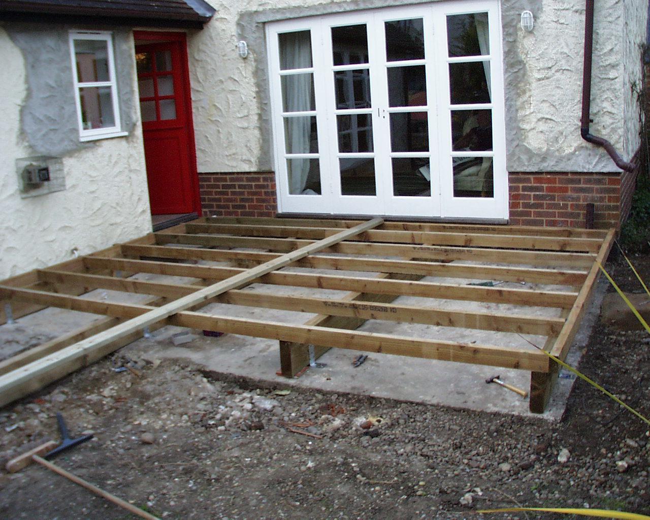 Patio Deck Designs Ground Level