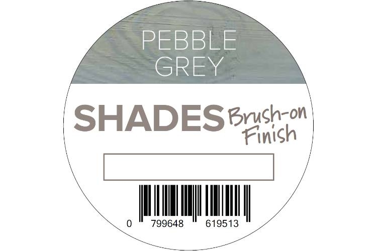 Q-Deck Pebble Grey shades brush on finish top