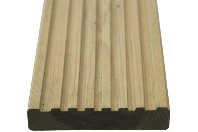 Q-Deck Canterbury decking grooved profile image