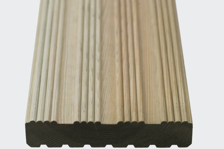 Q-Deck winchester decking reeded profile image