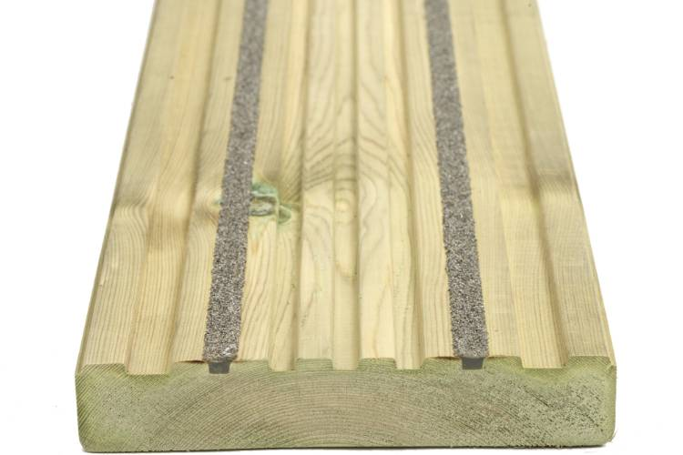Q-Deck Canterbury decking smooth profile image