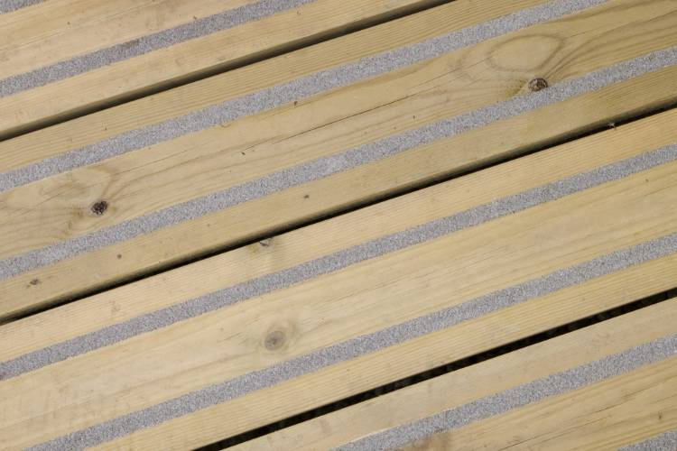 Q-Grip york decking grooved profile image