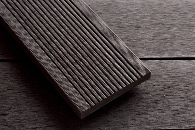 SmartBoard Slate decking reeded profile image