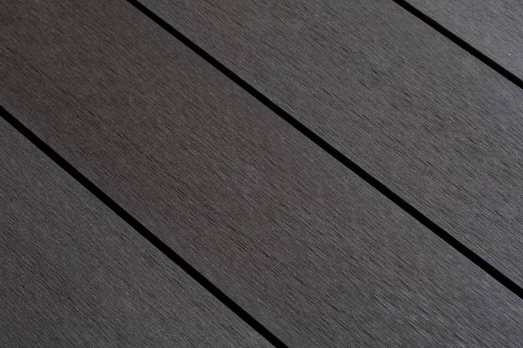 SmartBoard Slate decking smooth profile in situ